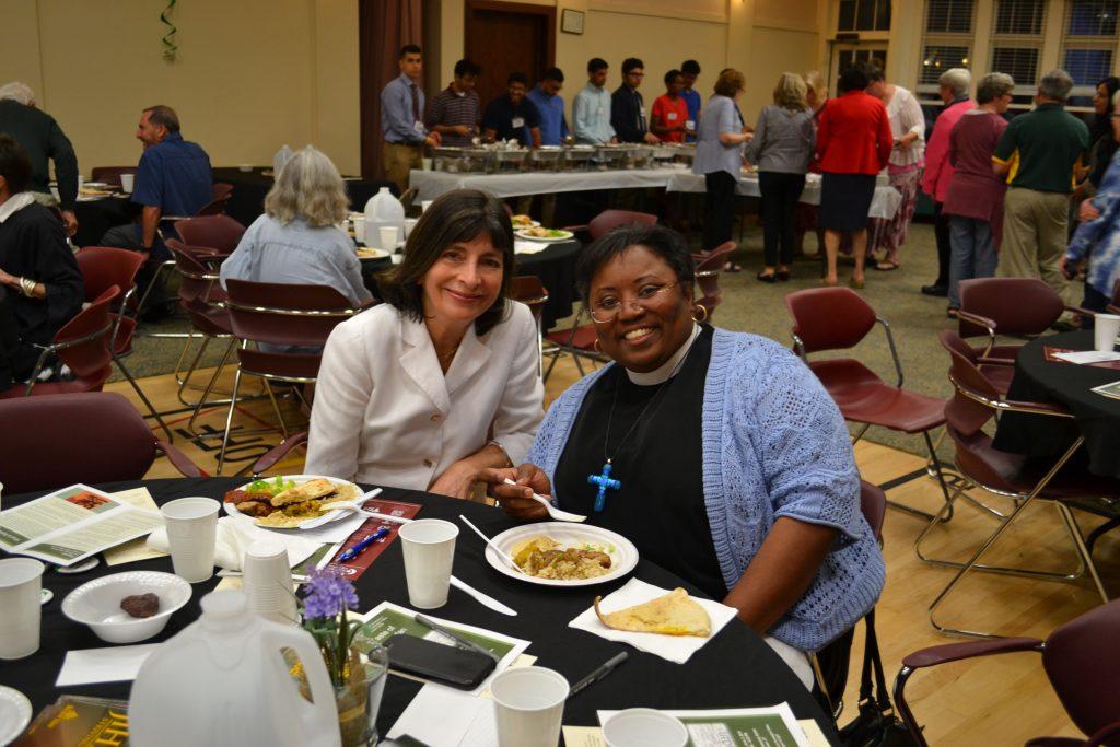 Tina at Taste of Ramadan interfaith event in 2018